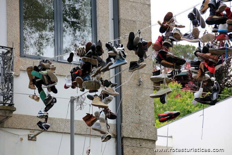 Resultado de imagem para sapatos em fios