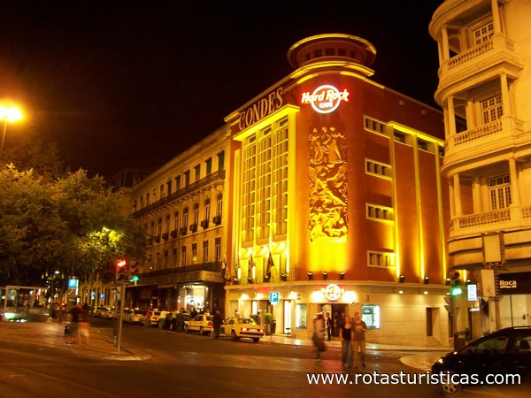hard rock cafe lisbon lisboa lisboa portugal clube travel portugal. Black Bedroom Furniture Sets. Home Design Ideas