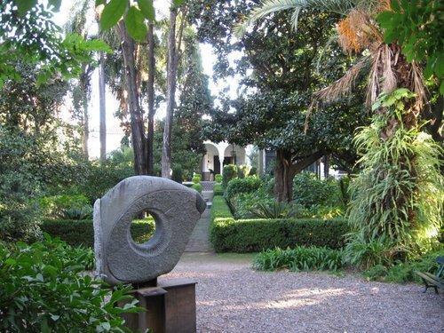 Jard n museo larreta buenos aires argentina rotas for Jardin andaluz