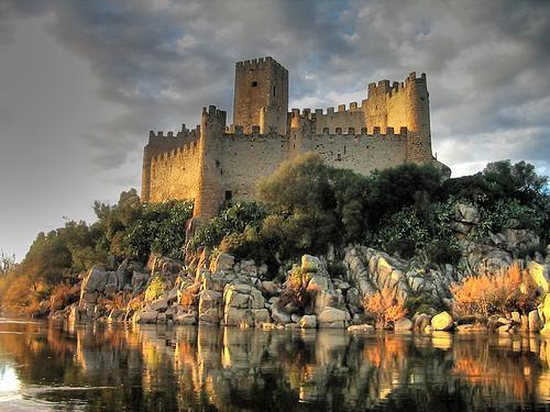 Castelo De Almourol Almourol Portugal Rotas Turisticas